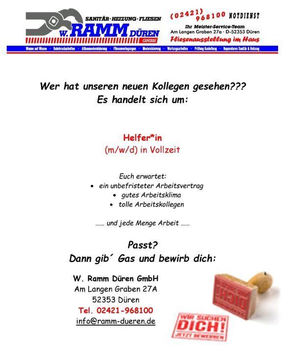 Aktuelles | W. Ramm Düren GmbH