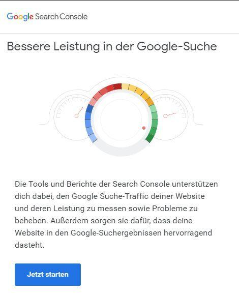 Google Search Consoleeinrichten | SEO für chayns