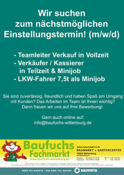 Aktuell | baufuchs-wittenburg