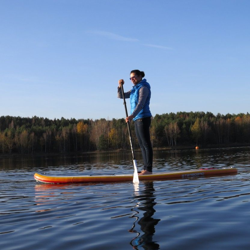 expeditours | SUP am Senftenberger See