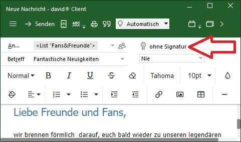 Digitale Signaturen: eMail-Sicherheit von