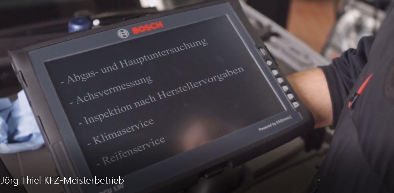 KFZ-Meisterbetrieb Thiel - Willkommen!