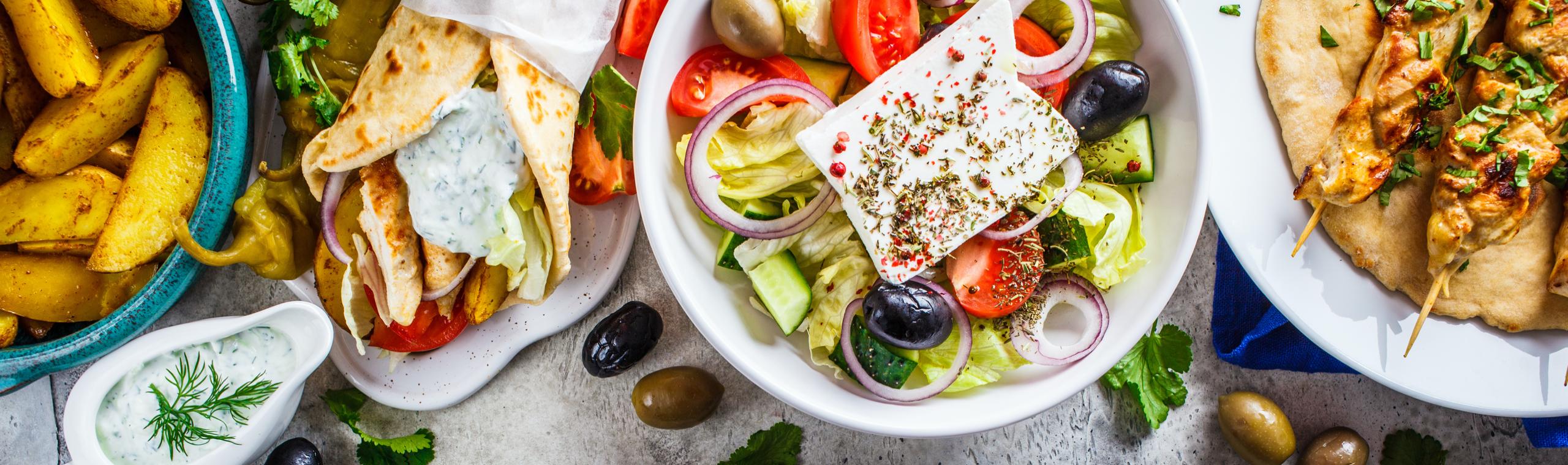 Online griechisches Essen bestellen