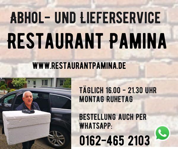 Herzlich Willkommen im Restaurant Pamina -