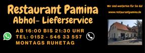 Anmelden | Restaurant Pamina am Kulturbahnhof Hiltrup