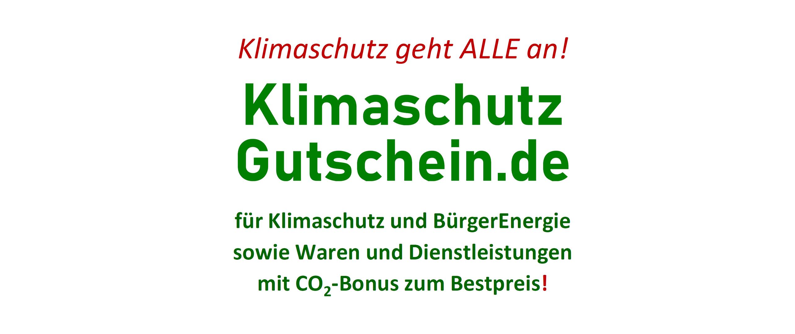 CO2-Bonus-Gutschein