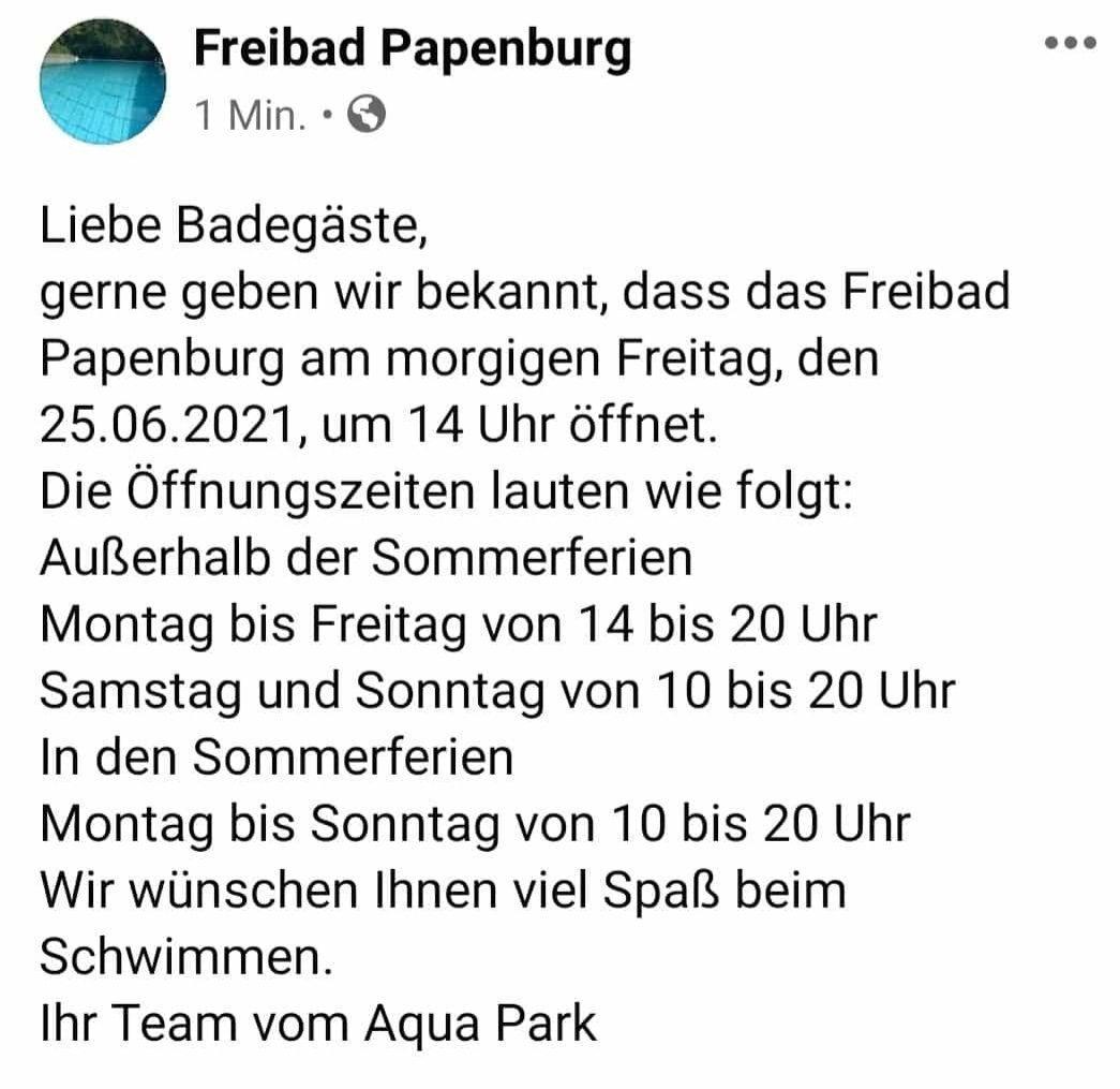 Aktuelle Neuigkeiten   TuS Aschendorf