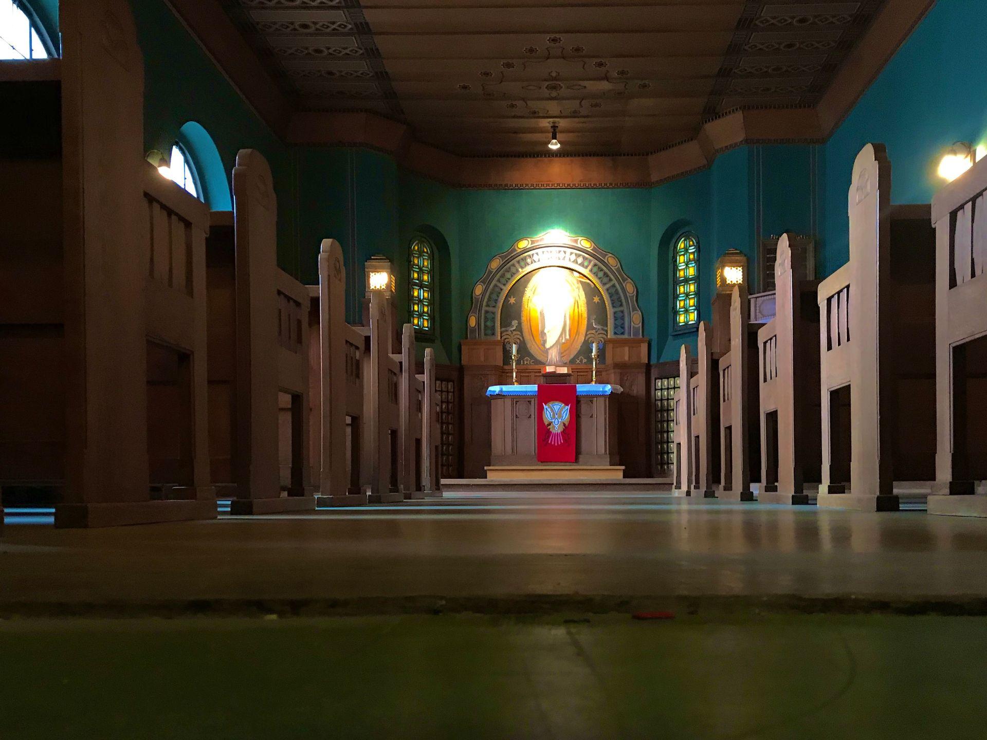 Geweihter Betsaal | eventtheaterhaar