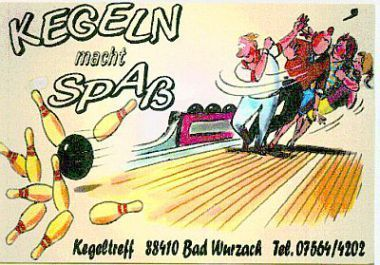 Kegeln | TSG Bad Wurzach Abt. Sportkegeln