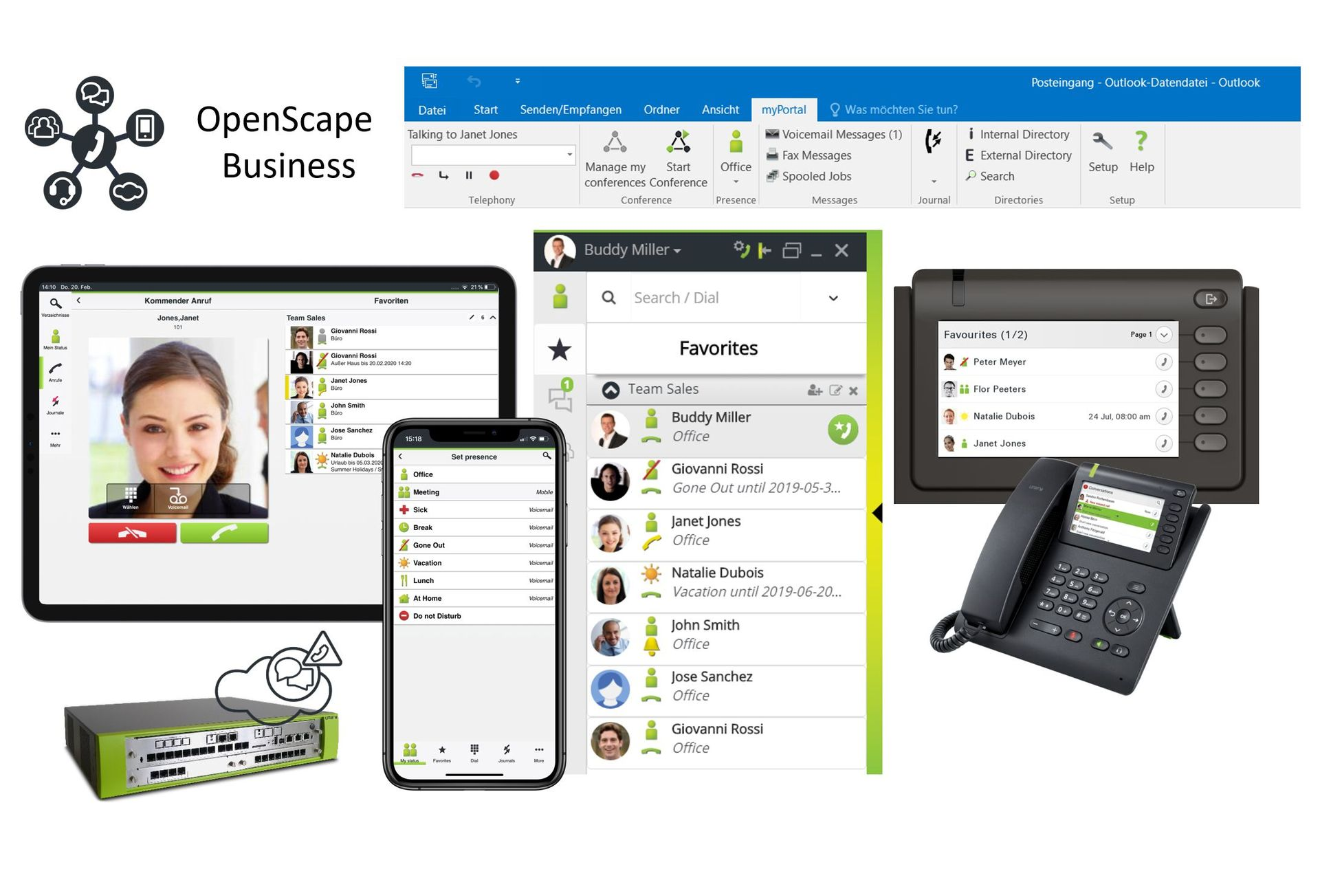 Unify-Telefonanlage | OpenScape Business | Ahaus