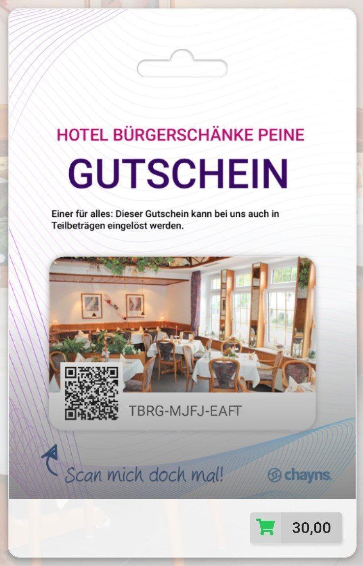 Aktuell   Hotel Bürgerschänke Peine