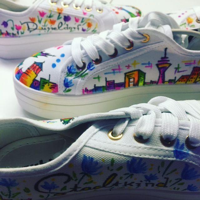 der bunte Schuh | DüsselLiebe