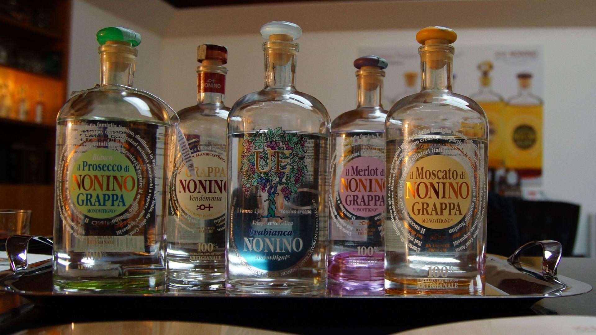 Nonino Destillatori, Grappa, Amaro, Ùe
