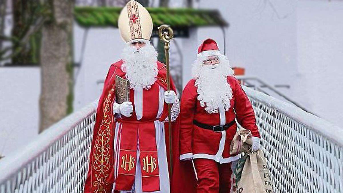Nikolaus oder Weihnachtsmann? - Über den Nikolaus