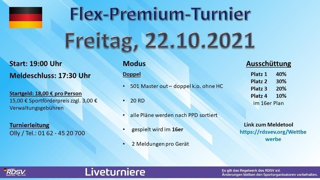 Flex Turniere - Turniere Flex