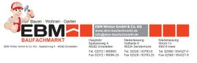 EBM Baufachmarkt Onlineshop