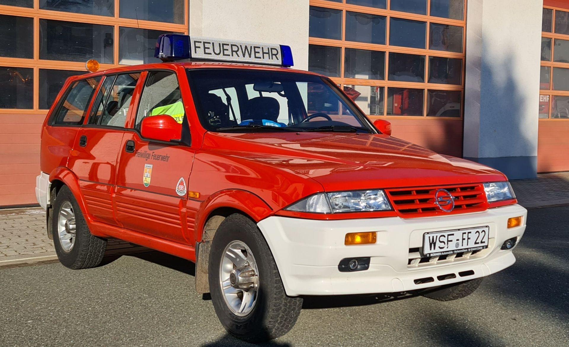Einsatzfahrzeuge - Technik   Feuerwehr Hohenmölsen