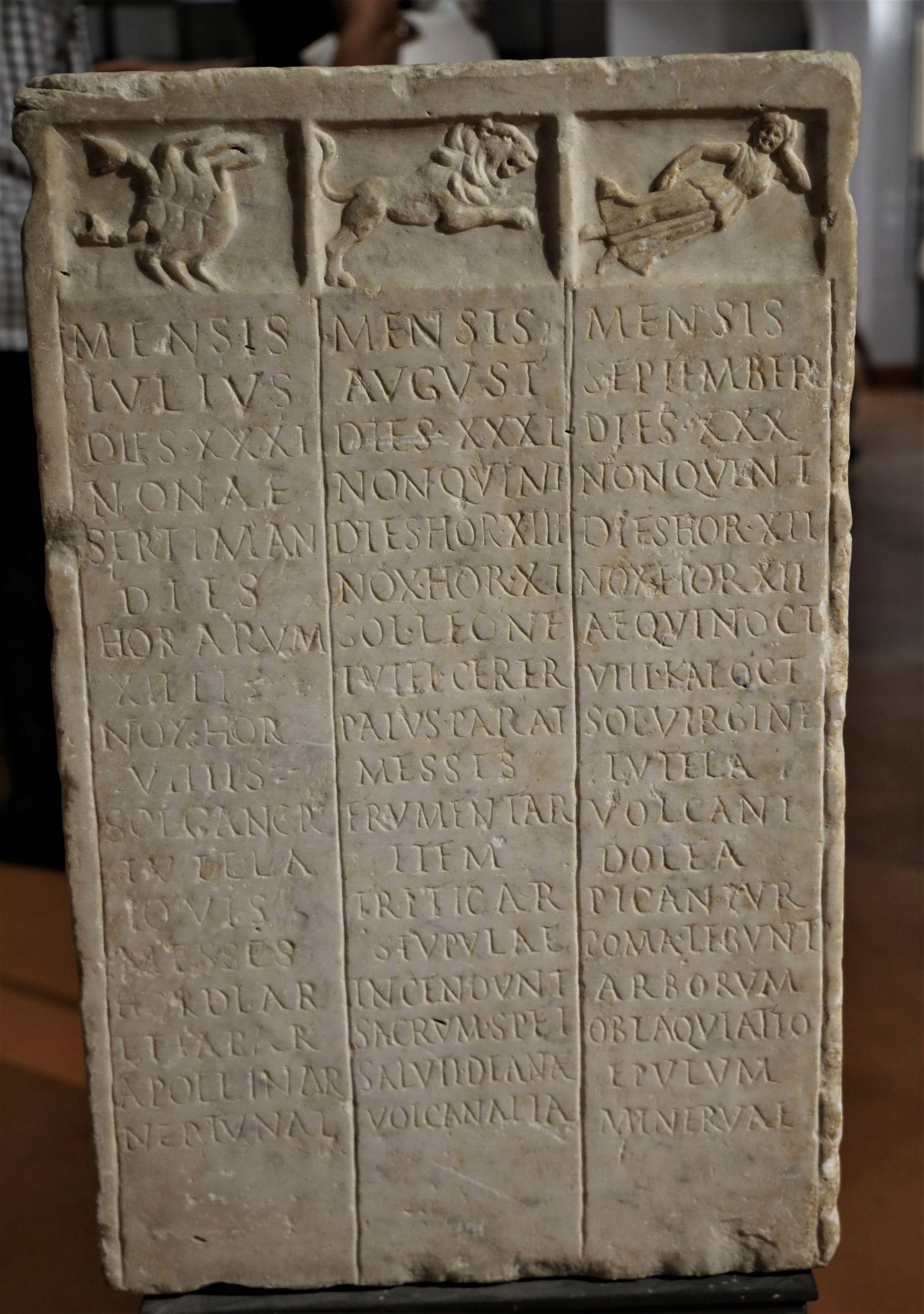 Der römische Kalender