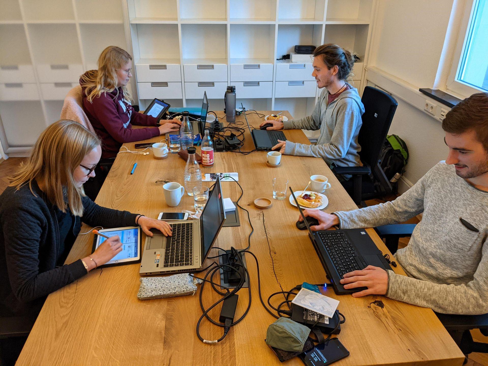 Coworking Münsterland wird betrieben von projaegt