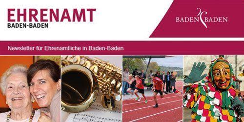 Newsletter Ehrenamt | Engagement-Baden-Baden