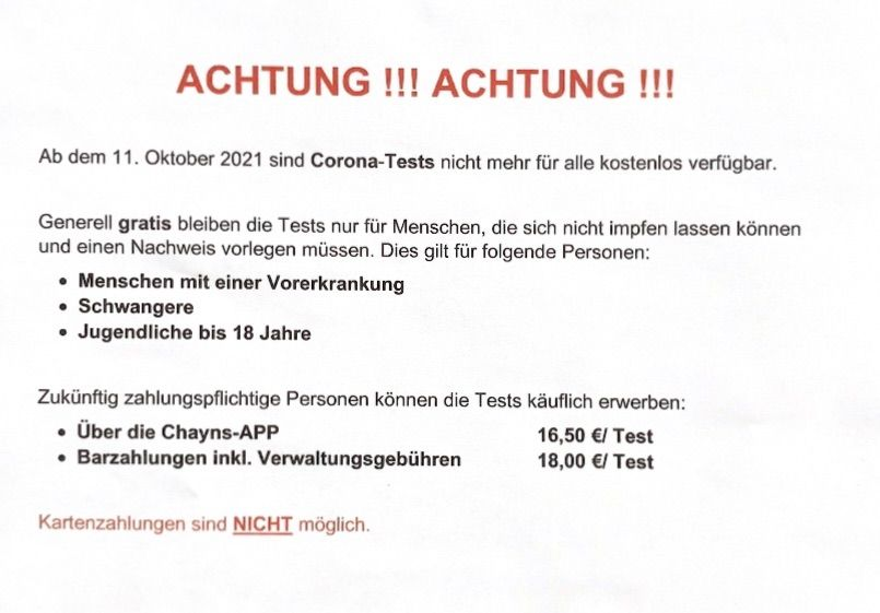 IhrBürgertest in Köln - Willkommen!
