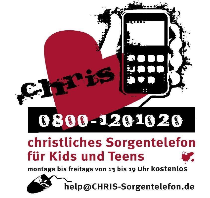 Das christliche Sorgentelefon für Kids und Teens .