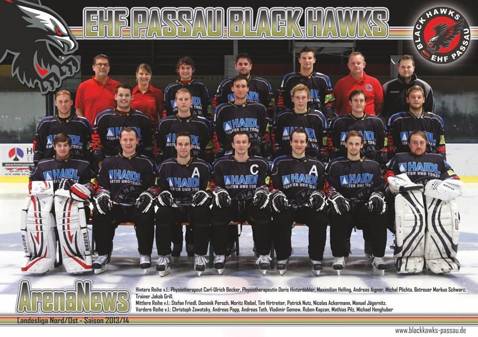 Kader 2013/14   1. Eishockey Fanclub Passau e. V.
