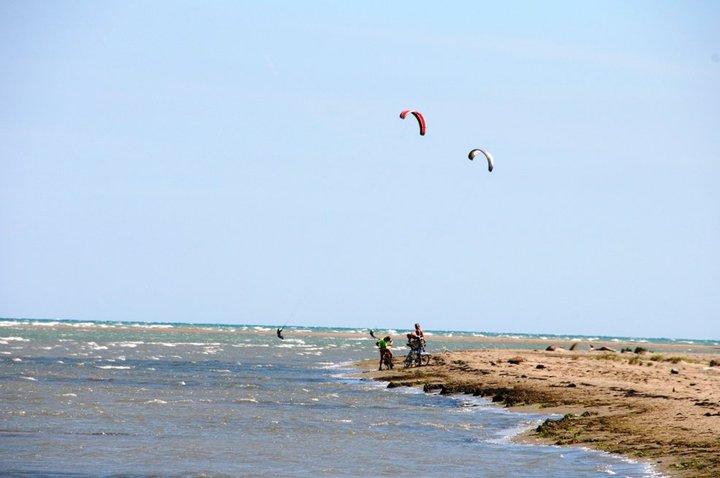 Kite-, Windsurfen und Wasserski [0km]