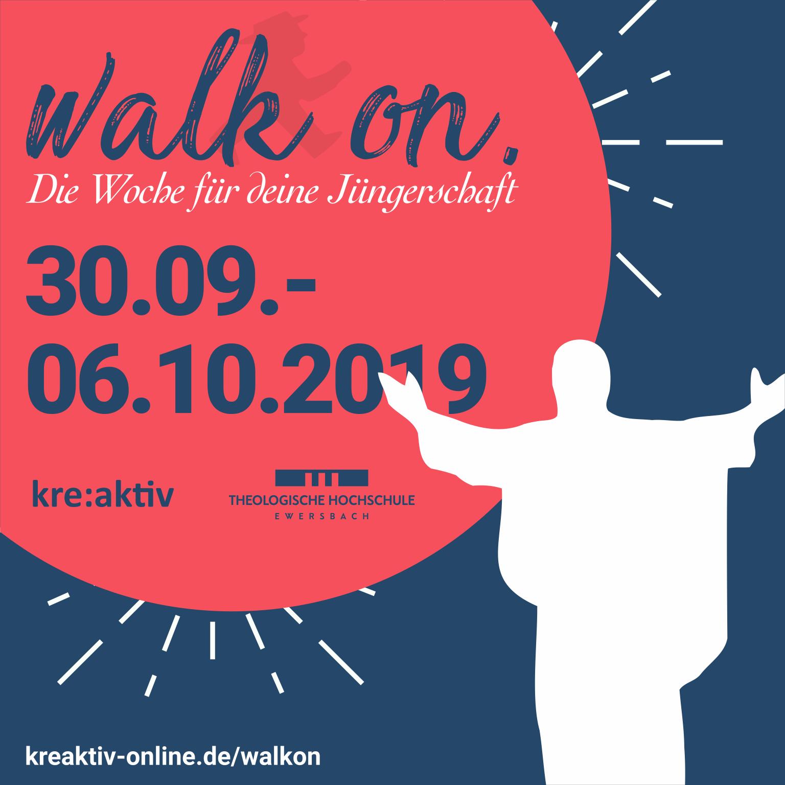 WALK ON - Die Woche für deine Jüngerschaft