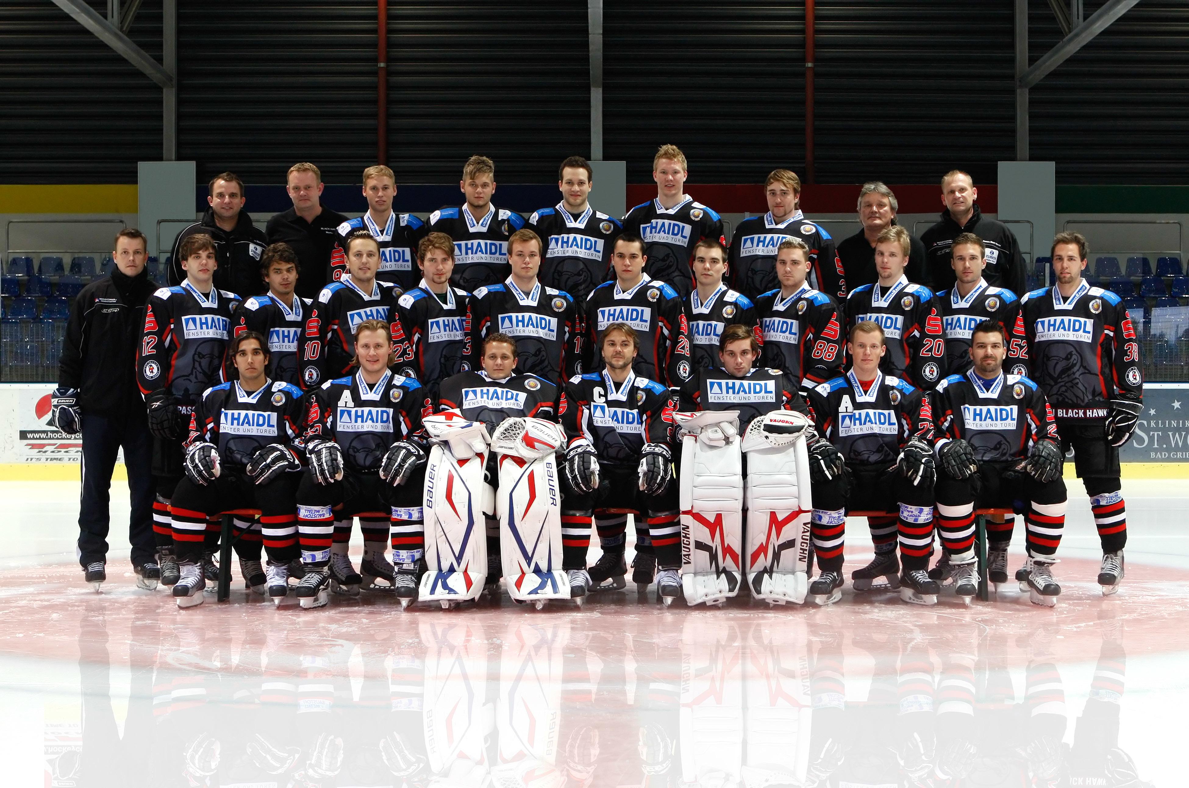 Kader 2010/11   1. Eishockey Fanclub Passau e. V.