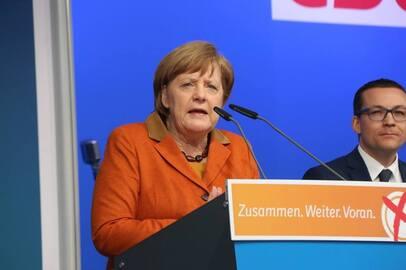 Bundeskanzlerin Merkel kommt nach Neunkirchen