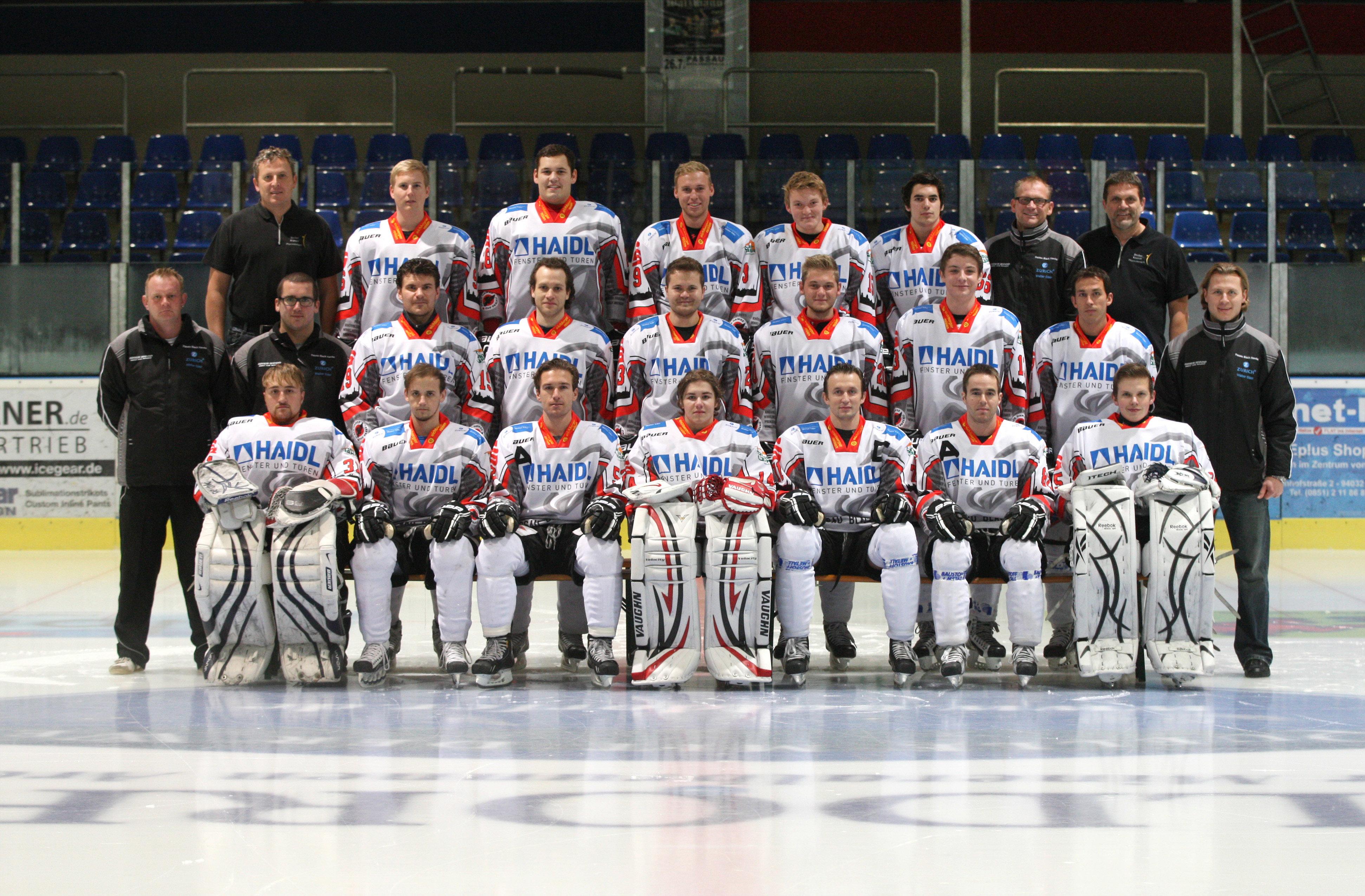 Kader 2012/13 | 1. Eishockey Fanclub Passau e. V.